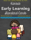 Kansas Early Learning Standards Cards