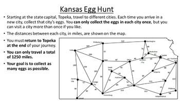 Kansas Easter Math Activity