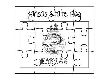 Kansas Flag Puzzle