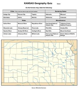 Kansas Geography Quiz