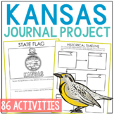 KANSAS History Project, Differentiated State Research Journal {EDITABLE}