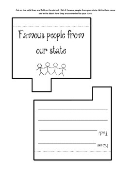 Kansas Lapbook/Interactive Notebook.  US State History and Geography