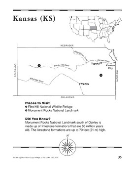Kansas (Map & Facts)