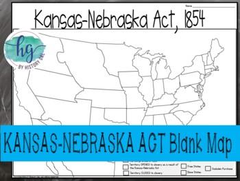 Kansas Neska Act Map Activity on