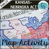 Kansas Nebraska Act Map Activity