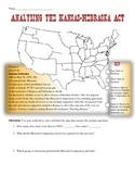 Kansas-Nebraska Act Map Analysis Worksheet