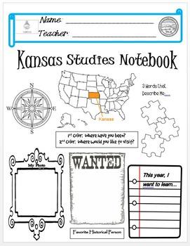 Kansas Notebook Cover