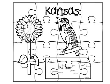 Kansas Puzzle Set