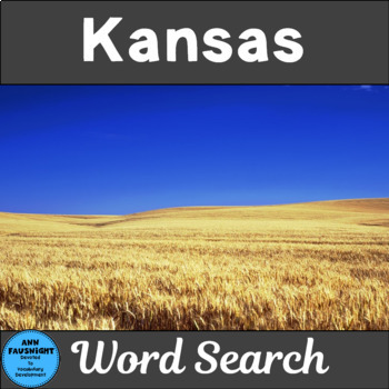 Kansas Word Search