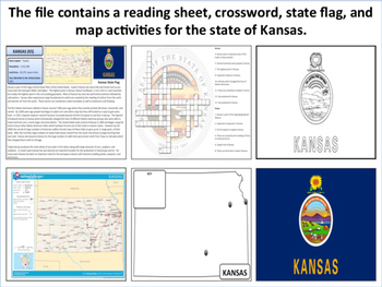 Kansas - State Activity Set