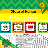 Kansas State Fact and Symbol Pack {Kansas Day}