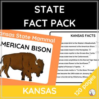 Kansas State Fact and Symbol Pack {Kansas Day}