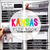 Kansas State Flipbook Interactive Activity for Social Studies
