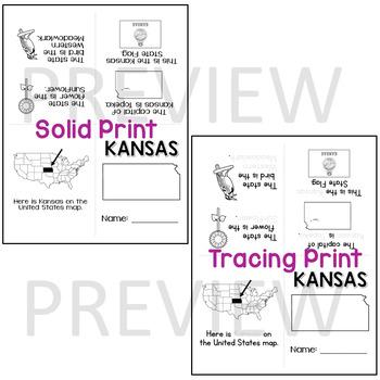 Kansas State Mini-Book