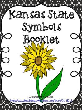 kansas state symbols teaching resources teachers pay teachers