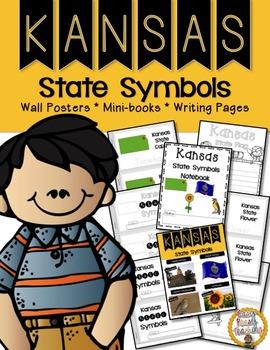 Kansas State Symbols Notebook