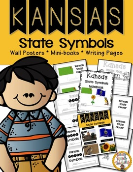 Kansas State Symbols Notebook