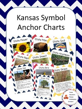 Kansas Symbol Anchor Chart Pack