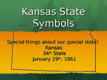 Kansas Symbols Powerpoint Presentation