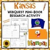 Kansas Webquest Common Core Research Mini Book
