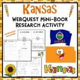 Kansas Webquest Informational Reading Research Activity Mini Book