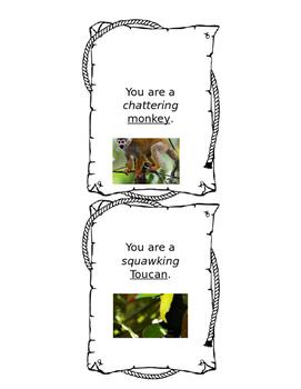 Kapok Tree Integrated Arts Lesson