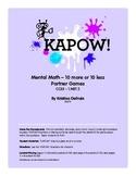 Kapow! Ten More--Ten Less