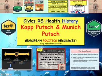 Kapp Putsch and Munich Putsch - Nazi Germany European History