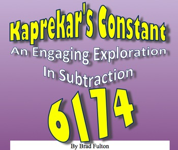 Kaprekar's Constant: An Engaging Exploration in Subtraction
