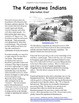 Karankawa Indian Tribe- Expository Essay