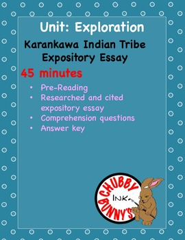 Karankawa Indian Tribe- Expository Essay
