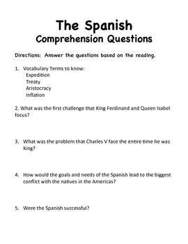 The Spanish- Expository Essay