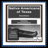 Karankawa Indians Reading Comprehension