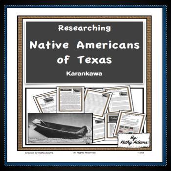 Texas Indians Karankawa Research