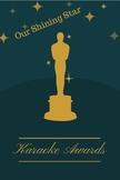 Karaoke Award - FREE
