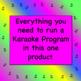 Karaoke Day ♫ Guidelines, Sign-up Form & Teacher Fundraiser Plans