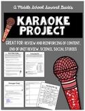 Summative Assessment Project: Karaoke Song Parody Project