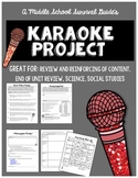 Summative Assessment Project: Karaoke Song Parody Project
