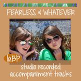 Instrumental Accompaniment tracks, lyrics to songs Fearles