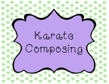 Karate Composing for the Recorder
