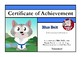 Karate Kat Times Tables achievement certificates