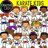 Karate Kids {Creative Clips Clipart}