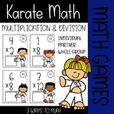 Karate Math {Multiplication & Division Games}