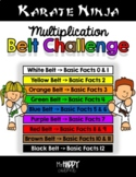 Karate Ninja MULTIPLICATION Belt Challenge