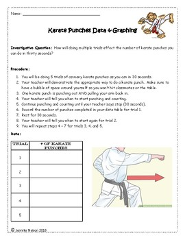 Karate Punches Data & Graphing