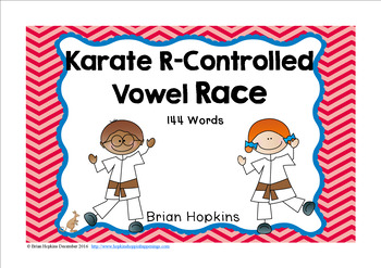 Karate R Controlled Vowel Race