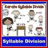 SYLLABLE TYPES | Syllable Activities | VCV and VCCV division