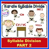 Syllable Types Games & Syllable Division Rules (Cle, CVVC,