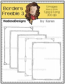 Karen's Borders 3 FREEBIE