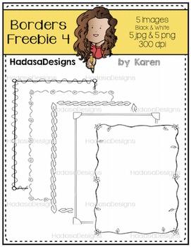 Karen's Borders 4 FREEBIE